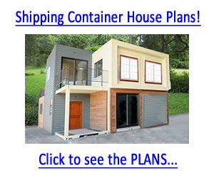 Build a Home Out of Shipping Containers!